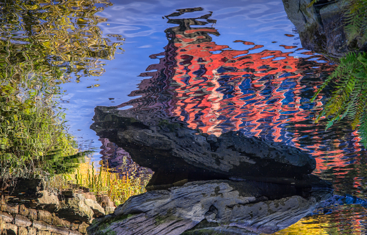 Belper River Gardens - Reflections 001