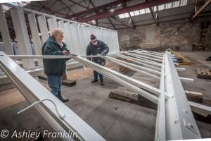 Heage Windmill Sail Restoration - Feb 2016 1