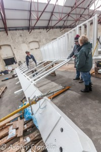Heage Windmill Sail Restoration - Feb 2016 10
