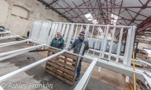 Heage Windmill Sail Restoration - Feb 2016 11