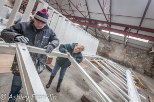 Heage Windmill Sail Restoration - Feb 2016 12