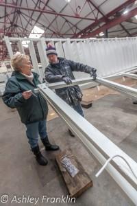 Heage Windmill Sail Restoration - Feb 2016 13