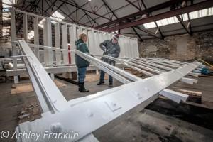 Heage Windmill Sail Restoration - Feb 2016 2