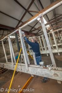 Heage Windmill Sail Restoration - Feb 2016 22