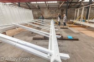Heage Windmill Sail Restoration - Feb 2016 27