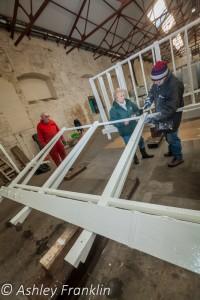 Heage Windmill Sail Restoration - Feb 2016 3
