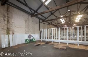 Heage Windmill Sail Restoration - Feb 2016 30