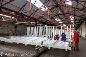 Heage Windmill Sail Restoration - Feb 2016 33