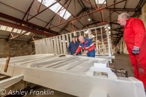 Heage Windmill Sail Restoration - Feb 2016 34