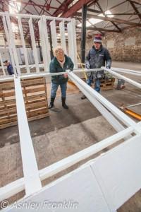 Heage Windmill Sail Restoration - Feb 2016 4