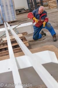 Heage Windmill Sail Restoration - Feb 2016 43