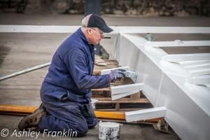 Heage Windmill Sail Restoration - Feb 2016 47