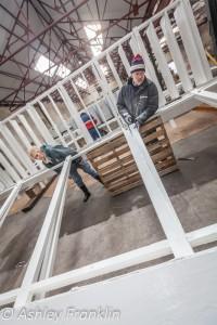 Heage Windmill Sail Restoration - Feb 2016 5